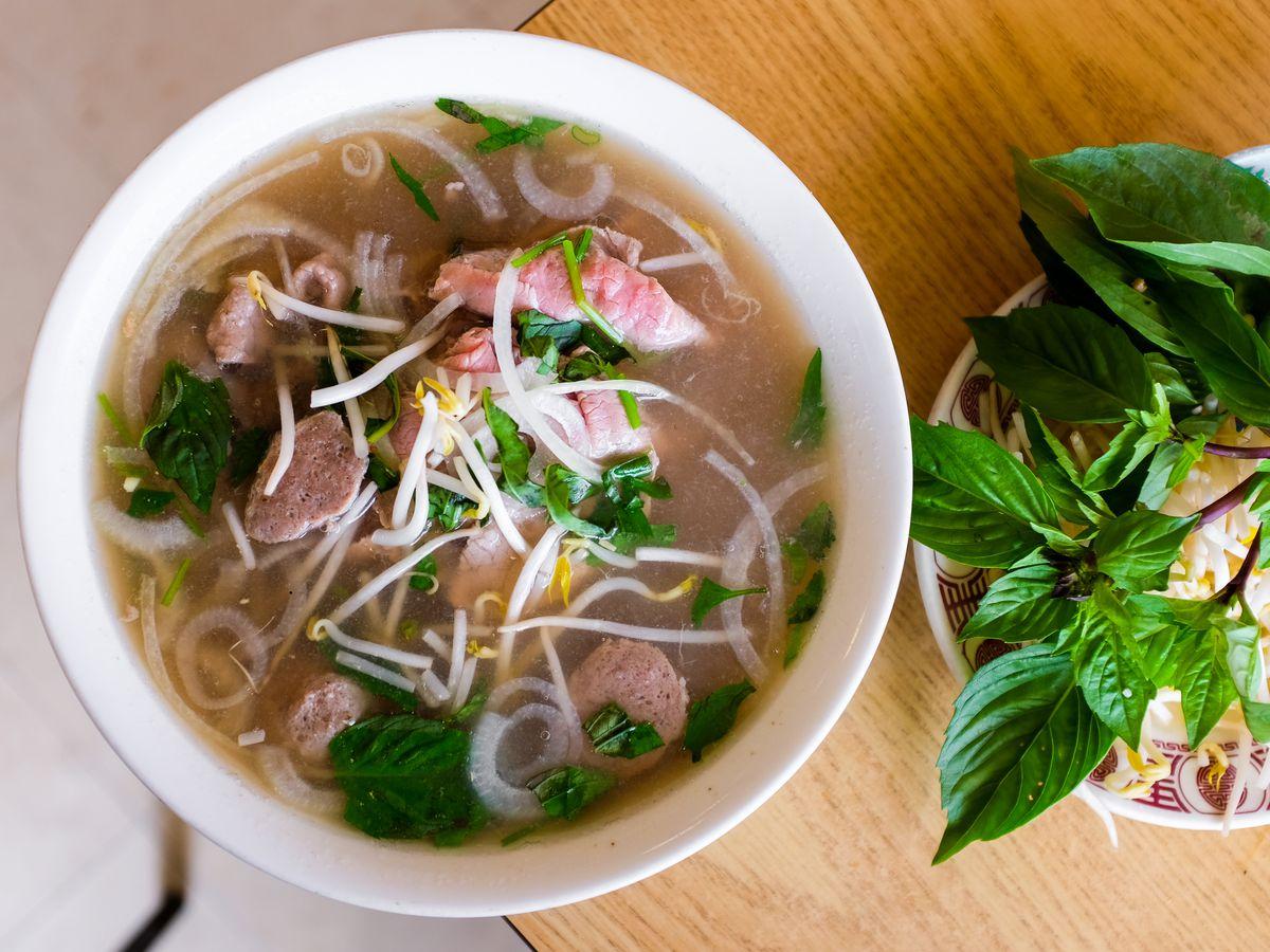 Rice & Noodle Soup